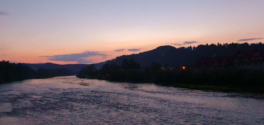 Kładka nad Dunajcem